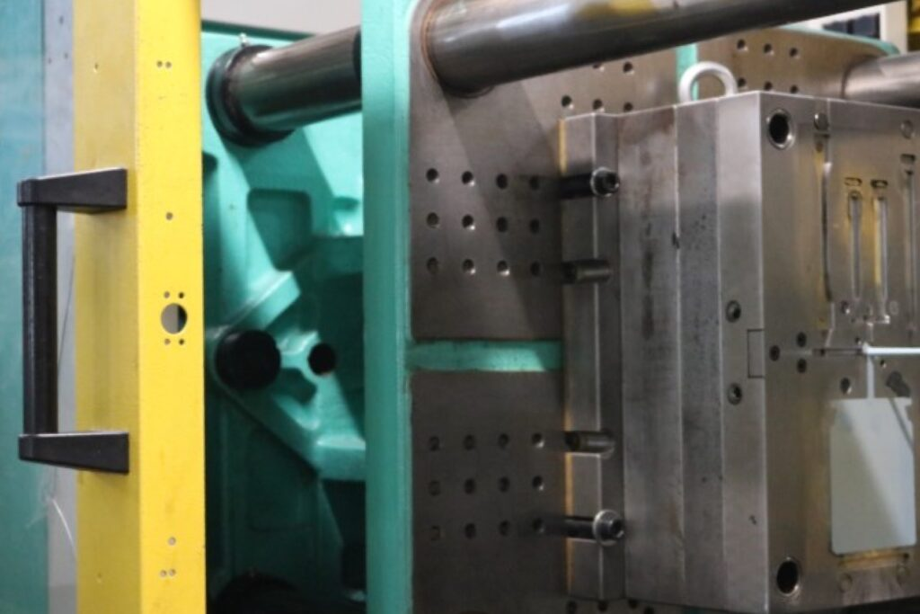 Injection moulding test plates